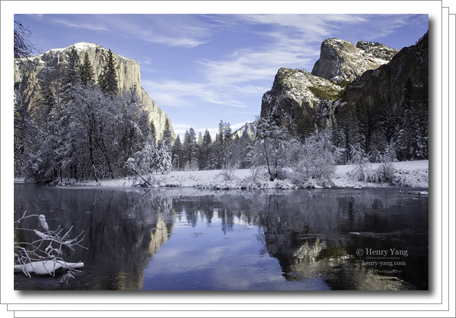 Winter Scenes, Yosemite National Park