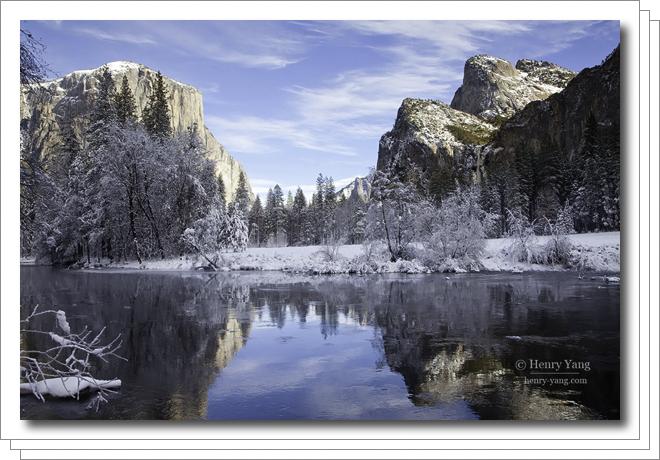 Winter Scenes, Yosemite National Park