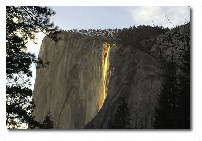 Horsetail Fall (Fire Fall), Yosemite National Park, California