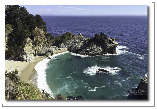 Point Lobos, Bixby Bridge and McWay Fall, Big Sur, California