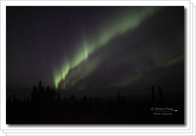 Aurora (Northern Lights) at Fairbanks, Alaska