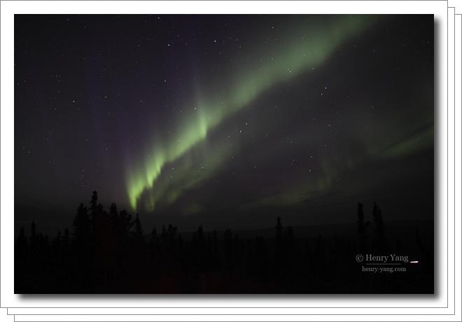 Aurora (Northern Lights) at Fairbanks, Alaska