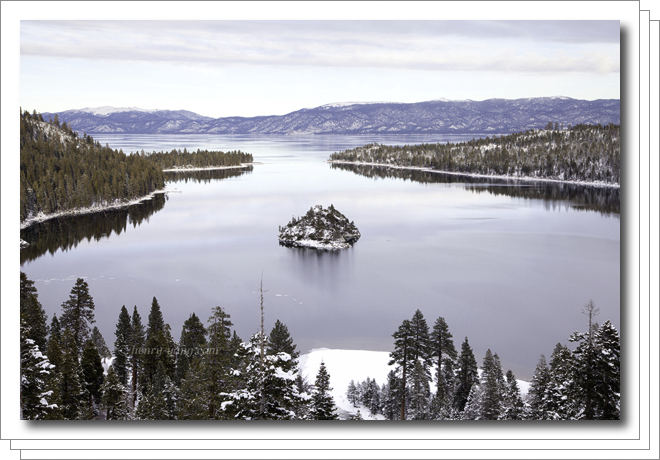 Lake Tahoe Winter, California & Nevada