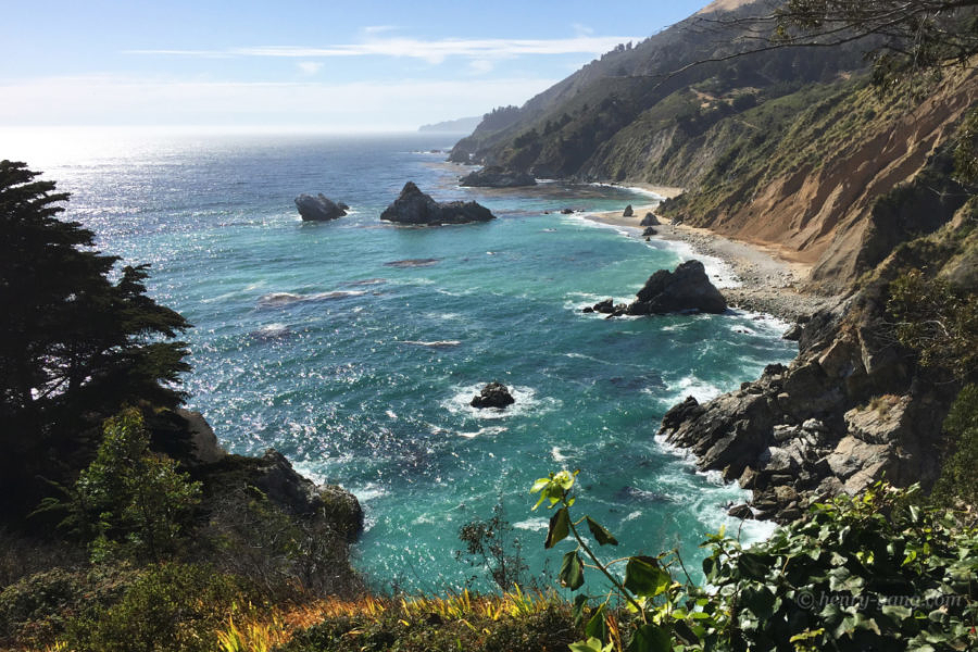 Julia Pfeiffer Burns State Park, California, 6/2016