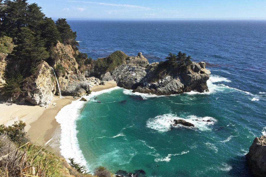 McWay Falls, Julia Pfeiffer Burns State Park, California, 6/2016
