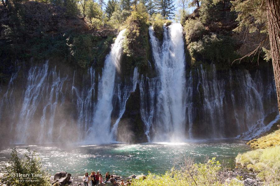 Buney Falls, McArthur-Burney Falls Memorial State Park, California, 9/2010