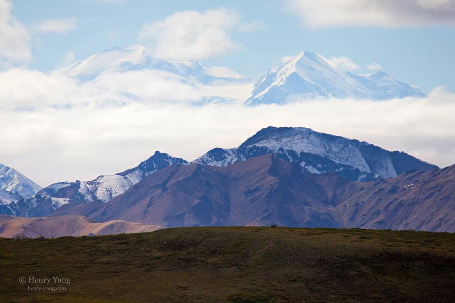 Mt. McKinley (Denali), Denali National Park, Alaska, 8/2015