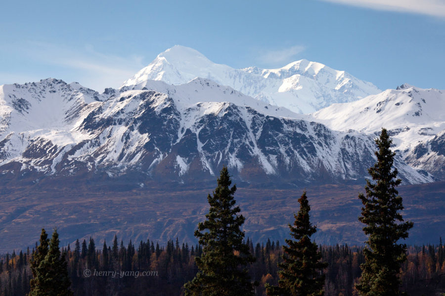 Denali (Mt. McKinley), Denali Viewpoint North, Alaska, 9/2016