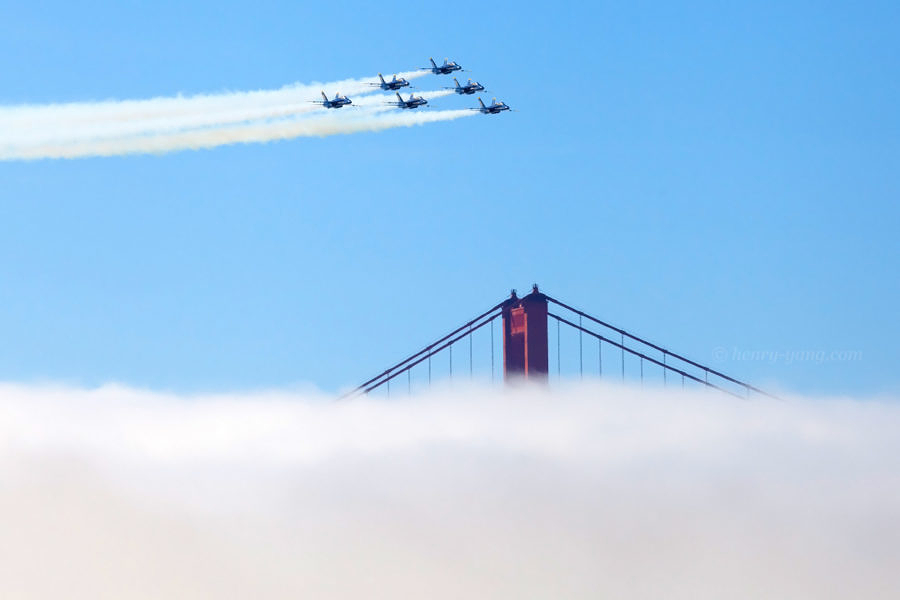 Blue Angels at Fleet Week, San Francisco, California, 10/2014