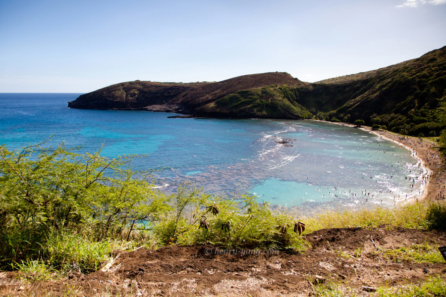 Hanauma Bay, Oahu, Hawaii, 12/2014