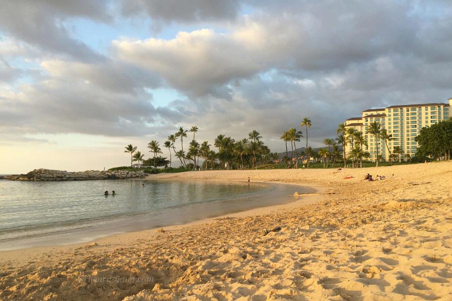 Ko'Olina Lagoon, Oahu, Hawaii, 12/2014