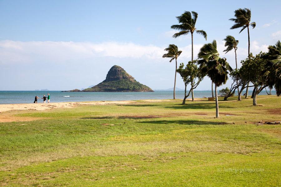 Kualoa Regional Park, Oahu, Hawaii, 12/2014
