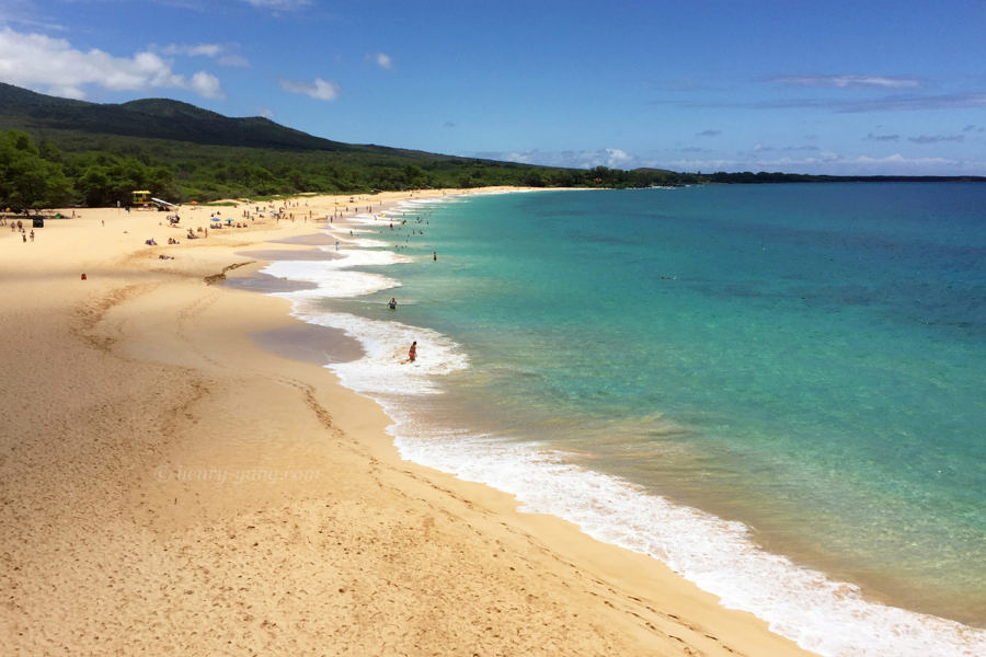 Big Beach, Makena State Park, Maui, Hawaii, 8/2016