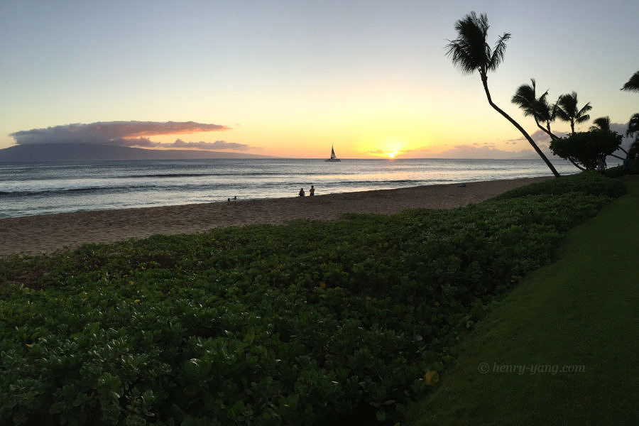 Ka'anapali Beach, Maui, Hawaii, 8/2016