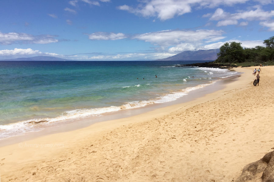 Little Beach, Makena State Park, Maui, Hawaii, 8/2016