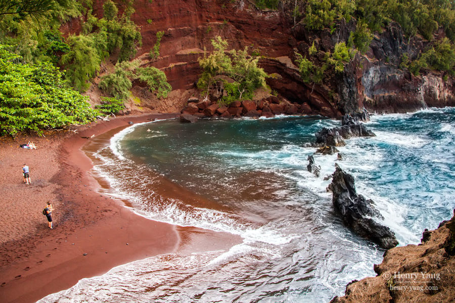 Red Sand Beach, Road to Hana, Maui, Hawaii, 8/2016