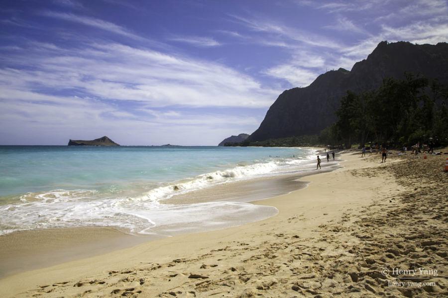 Waimanalo Beach, Oahu, Hawaii, 12/2014