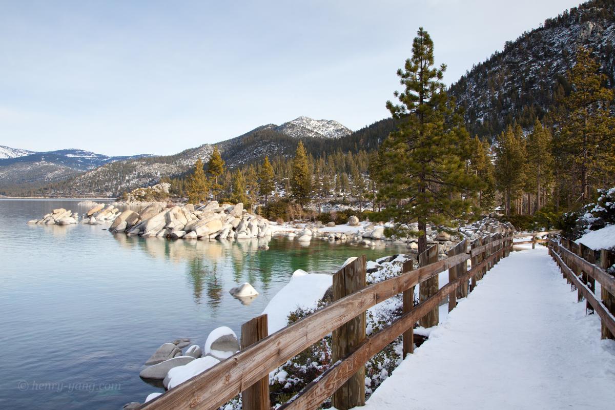 Winter At Lake Tahoe California Amp Nevada