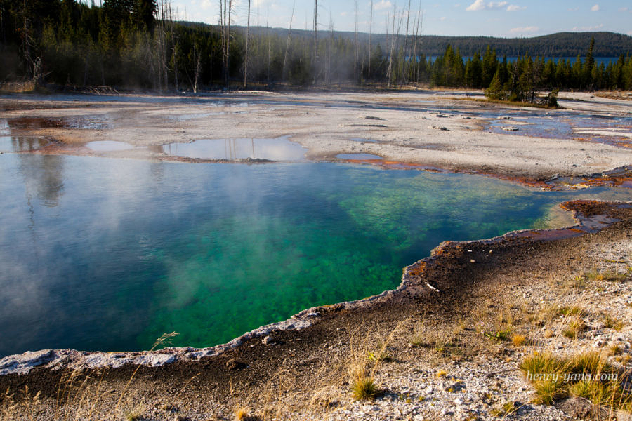 Abyss Pool, Yellowstone National Park, Wyoming, 9/2012