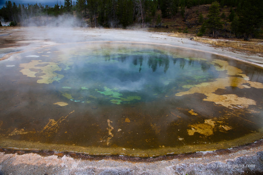 Beauty Pool, Yellowstone National Park, Wyoming, 9/2012