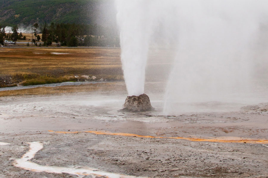 Beehive Geyser, Yellowstone National Park, Wyoming, 9/2012