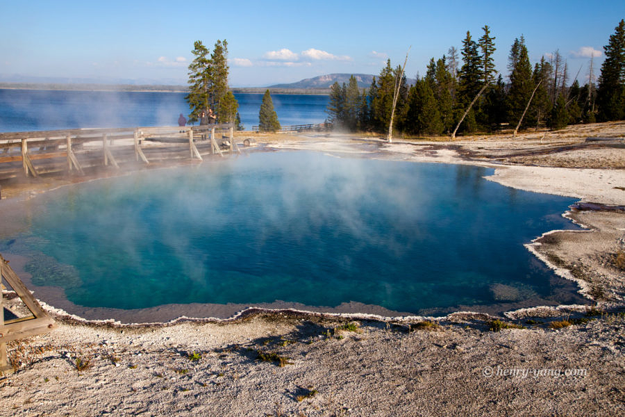 Black Pool, Yellowstone National Park, Wyoming, 9/2012