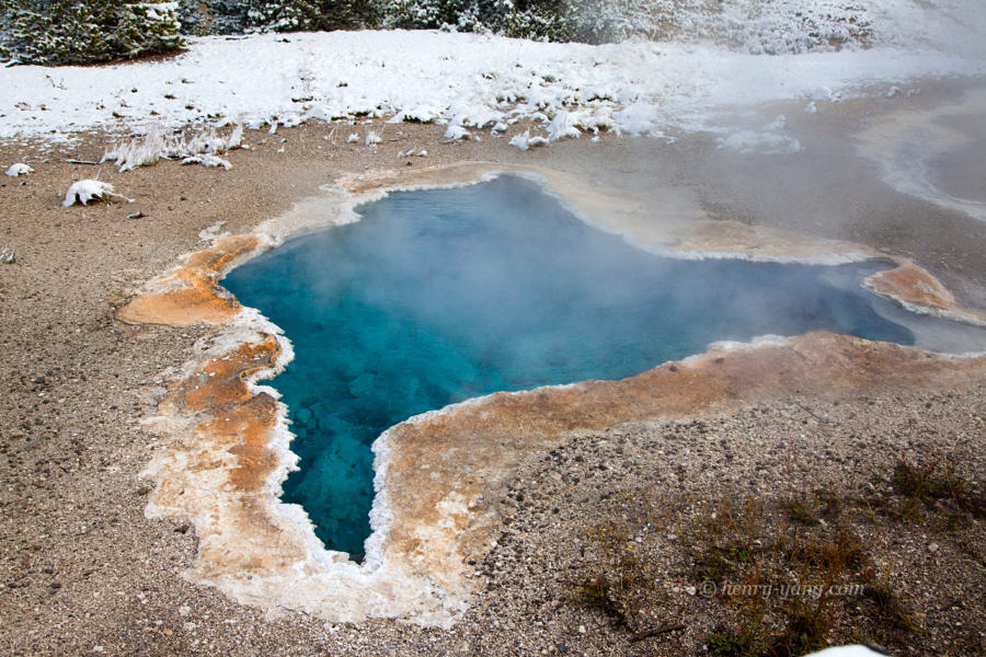 Blue Star Spring, Yellowstone National Park, Wyoming, 9/2013
