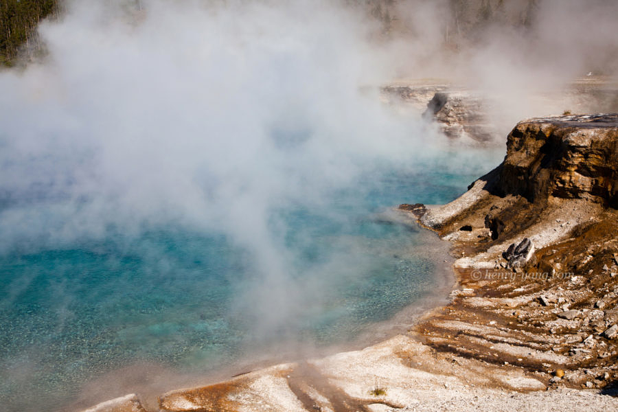Excelsior Geyser Crater, Yellowstone National Park, Wyoming, 9/2012