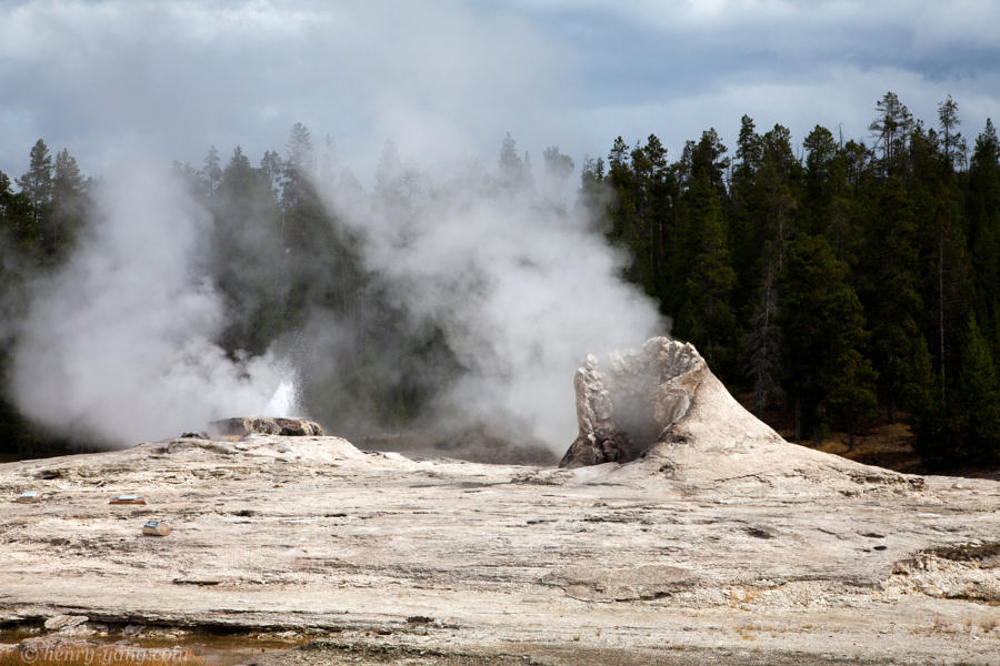 Giant Geyser, Yellowstone National Park, Wyoming, 9/2012