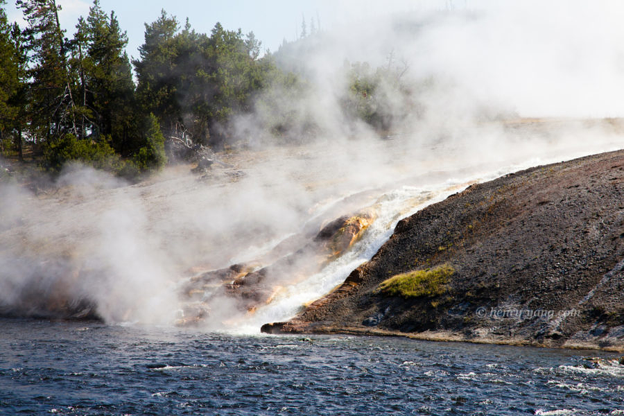 Midway Geyser Basin, Yellowstone National Park, Wyoming, 9/2012