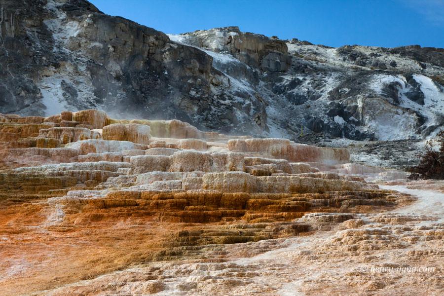 Jupiter Terrace, Mammoth Hot Springs, Yellowstone National Park, Wyoming, 9/2012