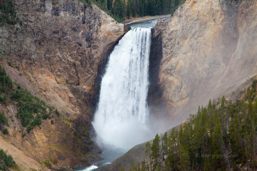 Lower Yellowstone Falls, Yellowstone National Park, Wyoming, 9/2013