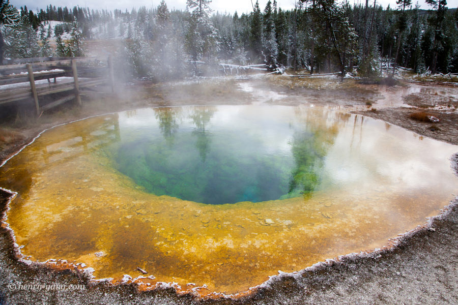 Morning Glory Pool, Yellowstone National Park, Wyoming, 9/2013