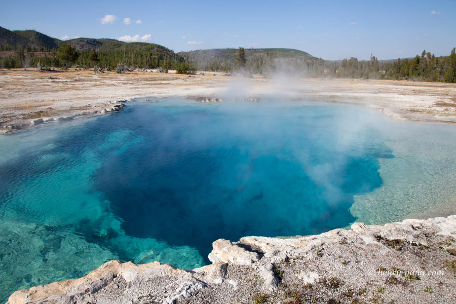 Sapphire Pool, Yellowstone National Park, Wyoming, 9/2012