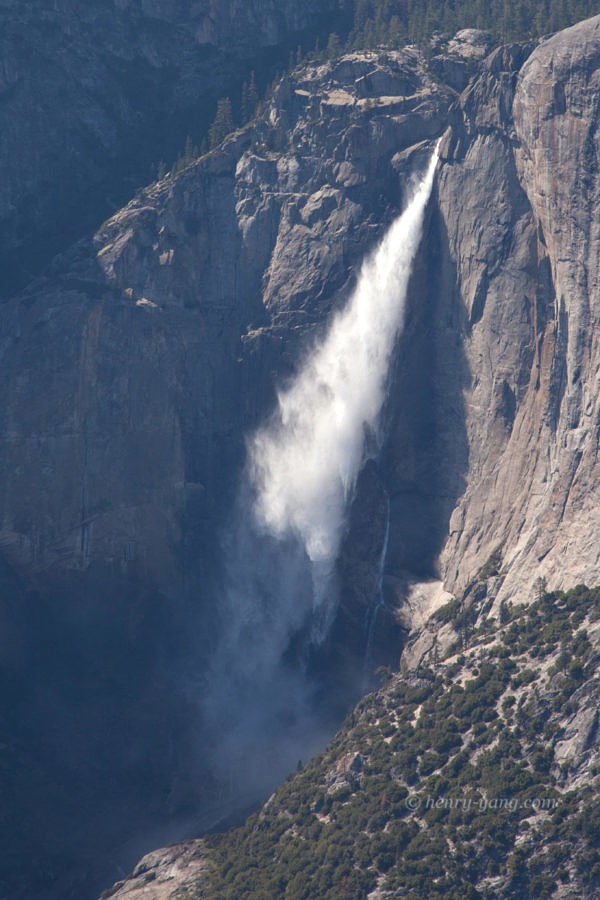 Yosemite Falls from Glacier Point, Yosemite National Park, California, 5/2016