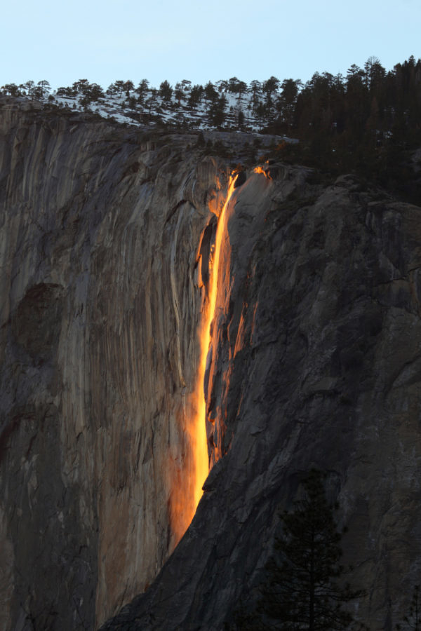 Horsetail Fall (Firefall), Yosemite National Park, California, 2/2016