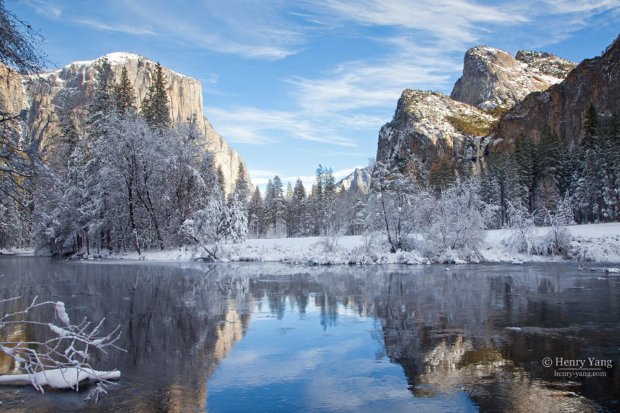 Valley View Winter, Yosemite National Park, California, 12/2015