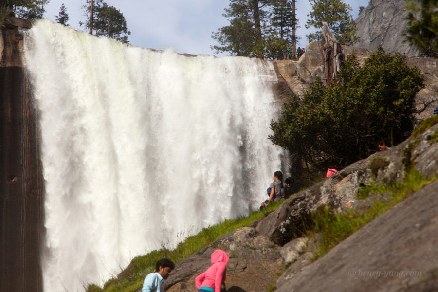 Vernal Falls from Mist Trail, Yosemite National Park, California, 5/2016