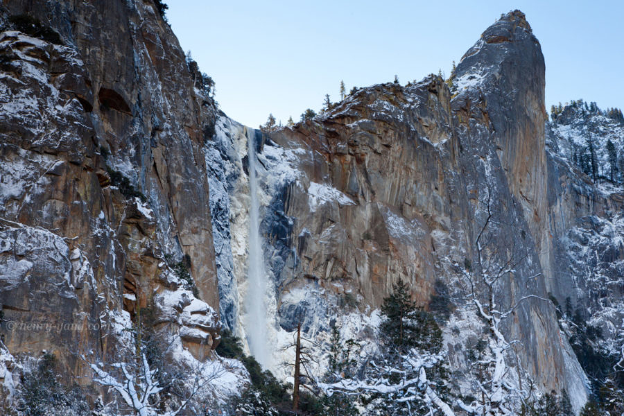 Bridalveil Fall, Yosemite National Park, California, 12/2015