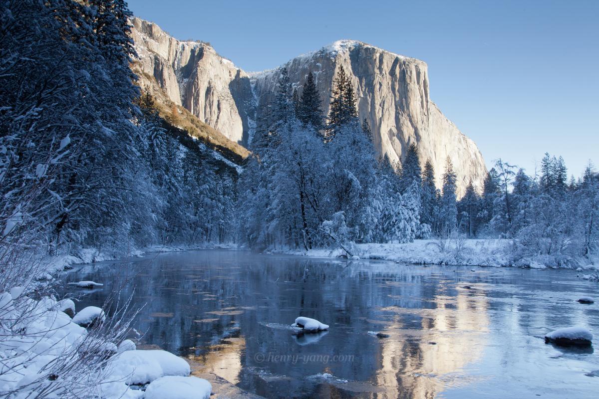 Winter Scenes Yosemite National Park California Henry Yang Photography