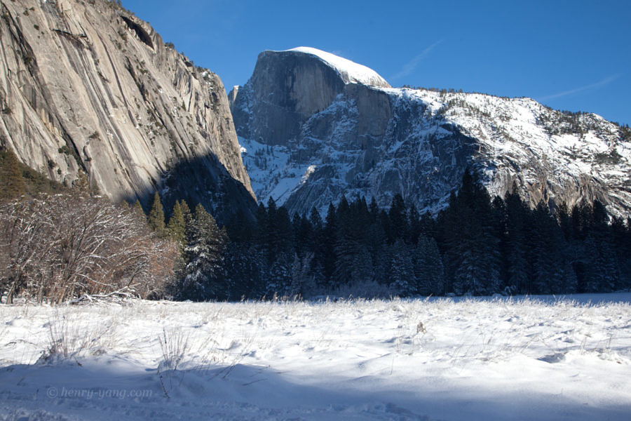 Half Dome, Yosemite National Park, California, 12/2015