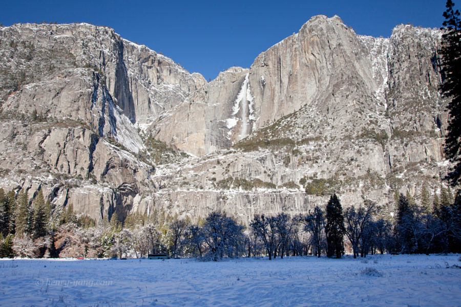 Yosemite Falls, Yosemite National Park, California, 12/2015