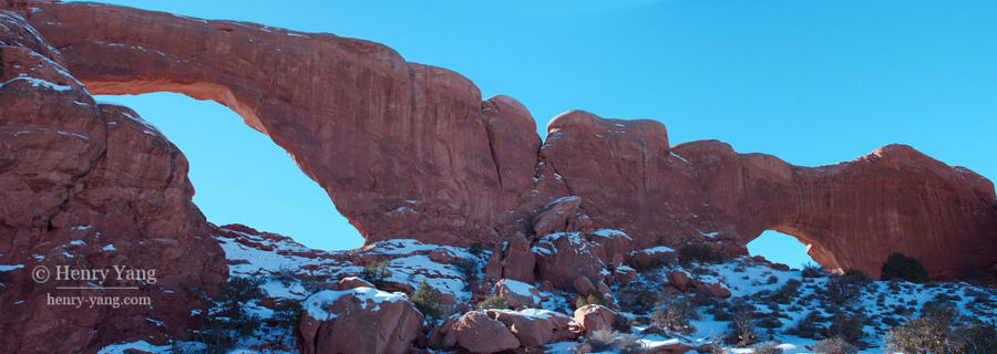 Delicate Arch, Arches National Park, Utah, 2/2008