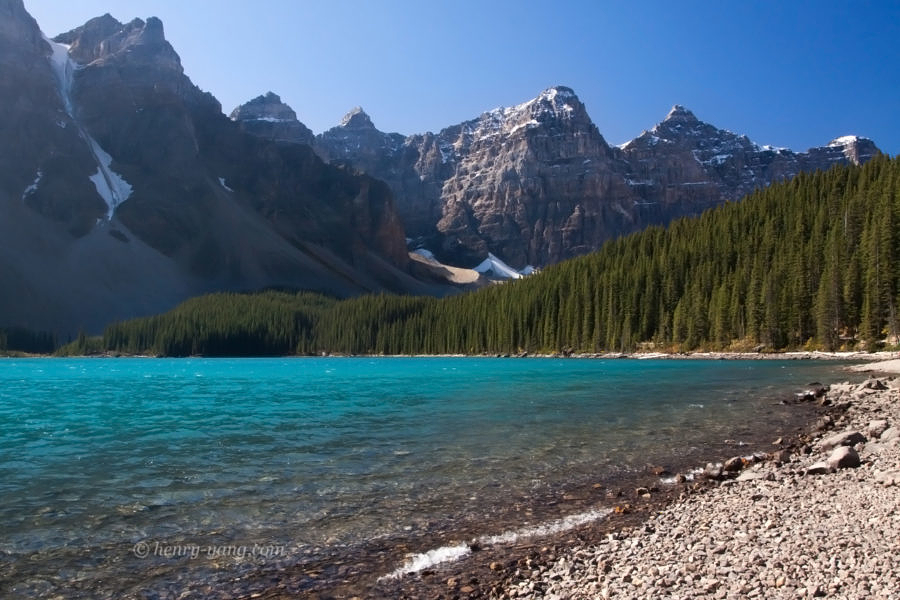 Moraine Lake, Banff National Park, Alberta, Canada 9/2011