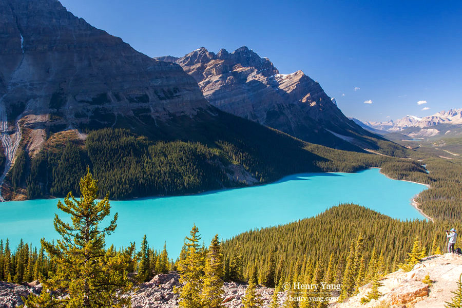 Peyto Lake, Banff National Park, Alberta, Canada 9/2011