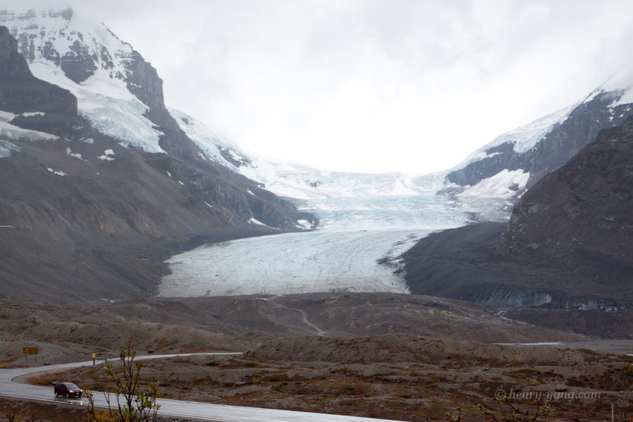 Athabasca Glacier, Jasper National Park, British Columbia, Canada, 9/2011