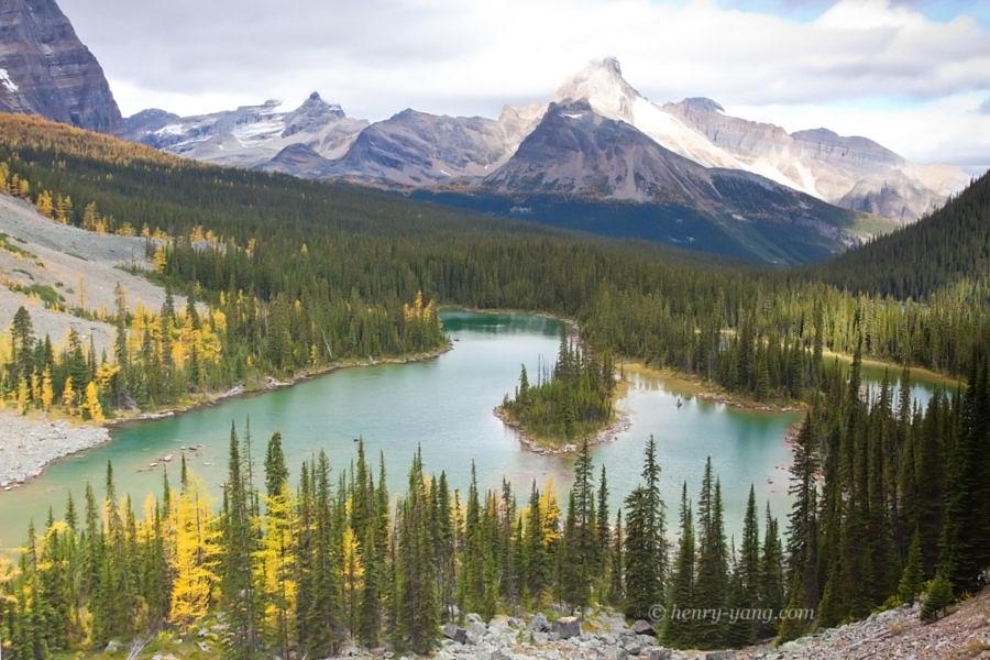Mary Lake, Yoho National Park, British Columbia, Canada, 9/2011