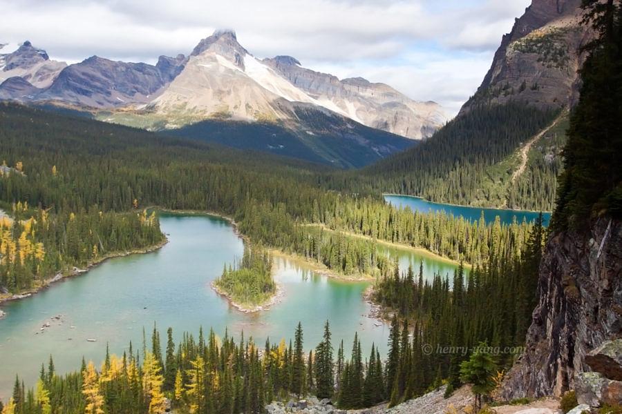 Mary Lake and Lake O'hara, Yoho National Park, British Columbia, Canada, 9/2011