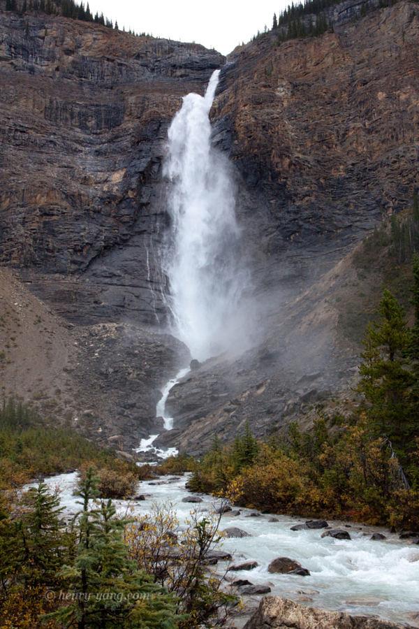 Takakkaw Falls, Yoho National Park, British Columbia, Canada, 9/2011