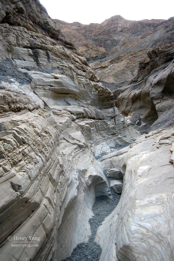 Mosaic Canyon, Death Valley National Park, California, 12/2008